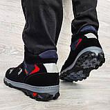 Мужские ботинки евро зима утепленные байкой (Сгз-5-3), фото 4