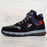 Мужские ботинки евро зима утепленные байкой (Сгз-5-3), фото 5