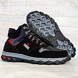 Мужские ботинки евро зима утепленные байкой (Сгз-5-3), фото 8