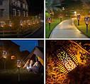 Садовый светильник Факел🔥 [Flame Light] с имитацией огня 12 LED высота 48 cm, IP65🔥, фото 4