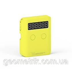 Таймер для спидкубинга карманный | YJ Pocket Timer yellow