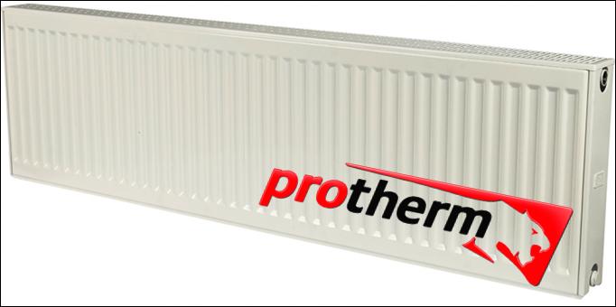 Стальной радиатор Protherm  боковое подключение 22k 300*400 (491 Вт)