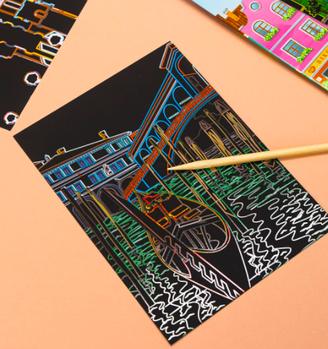 Мольберты, наборы для креативного рисования