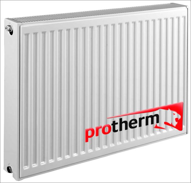 Сталевий радіатор Protherm бокове підключення 11k 500*1100 (1080 Вт)