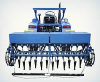 Сеялка 12 рядная для минитрактора (двенадцатирядная) зерновая
