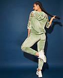 Женский велюровый спортивный  костюм; разм 48-50, 52-54, 54-56, 6 цветов.., фото 8