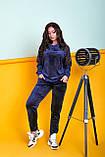 Жіночий велюровий спортивний костюм; розмір 48-50, 52-54, 54-56, 6 кольорів.., фото 7