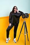 Жіночий велюровий спортивний костюм; розмір 48-50, 52-54, 54-56, 6 кольорів.., фото 8