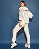 Жіночий велюровий спортивний костюм; розмір 48-50, 52-54, 54-56, 6 кольорів.., фото 10