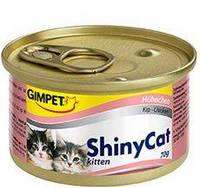 Консервы Gimpet Shiny Саt Kitten для котят, c курицей, 70г