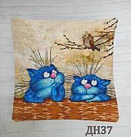 Наволочка пошита з подушкою під вишивку бісером ДН-37