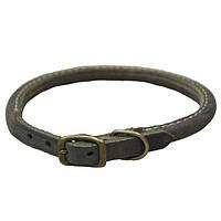 Coastal Circle-T круглий кожаный ошейник для собак, 1,6смХ50см