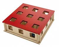 Ferplast MAGIC BOX Волшебная Коробка Интерактивная игрушка для кошек, 27 x 27 x h 8,5 см.