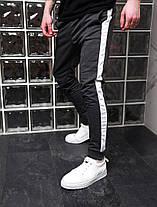 Штаны мужские спортивные черные, фото 3