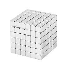 Магнитные кубики-головоломка SKY NEOCUBE (V5) комплект (216 шт) Silver