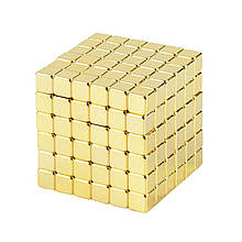 Магнитные кубики-головоломка SKY NEOCUBE (V5) комплект (216 шт) Light Gold