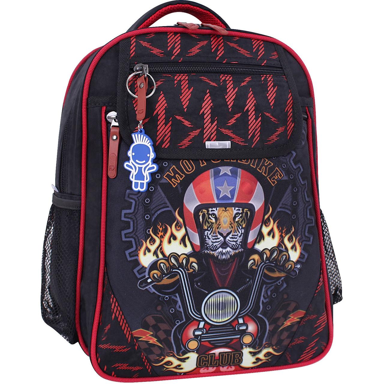 Рюкзак школьный Bagland Отличник 20 л. черный 658 (0058070)
