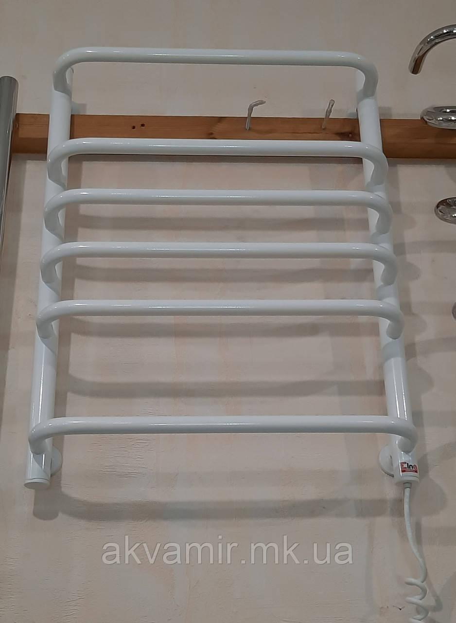 Полотенцесушитель Стандарт-6 630х480 білий з регулятором температури