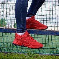 Чоловічі Кросівки Adidas Ozweego Red адідас озвиго червоні чоловічі кроссівки адідас озвіго червоні, фото 1