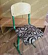 Чехлы на школьные стулья, накидка сидушка на табуретки с защелками на карабине №113, фото 2