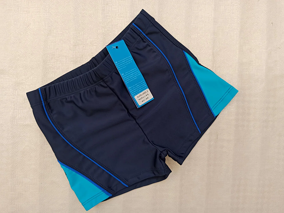 Шорты-плавки для подростков SAME GAME 60313 синий  (В НАЛИЧИИ ТОЛЬКО  42  размеры), фото 2