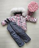Зимние костюмы куртка и полукомбинезон на мальчика и девочку, фото 8