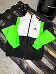 Вітрівка Чоловіча куртка вітровка Adidas / чоловіча куртка вітровка Adidas салатова, фото 2