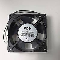 Вентилятор типа SUNON квадрат    120х120х38 мм. 0,14А