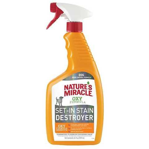 Спрей-знищувач для кішок Nature's Miracle «Set-In Stain Destroyer. Oxy Formula »