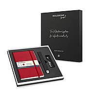 Набор Moleskine Smart Writing Set Ellipse (Smart Pen + Paper Tablet в Точку Красный) (8056420858853), фото 1