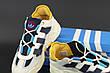 Чоловічі кросівки в стилі Adidas Niteball White\Blue\Yellow, фото 5