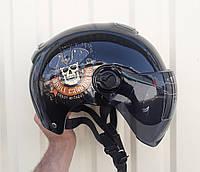 Шлем-каска райдера S-ONE черный матовый, фото 1