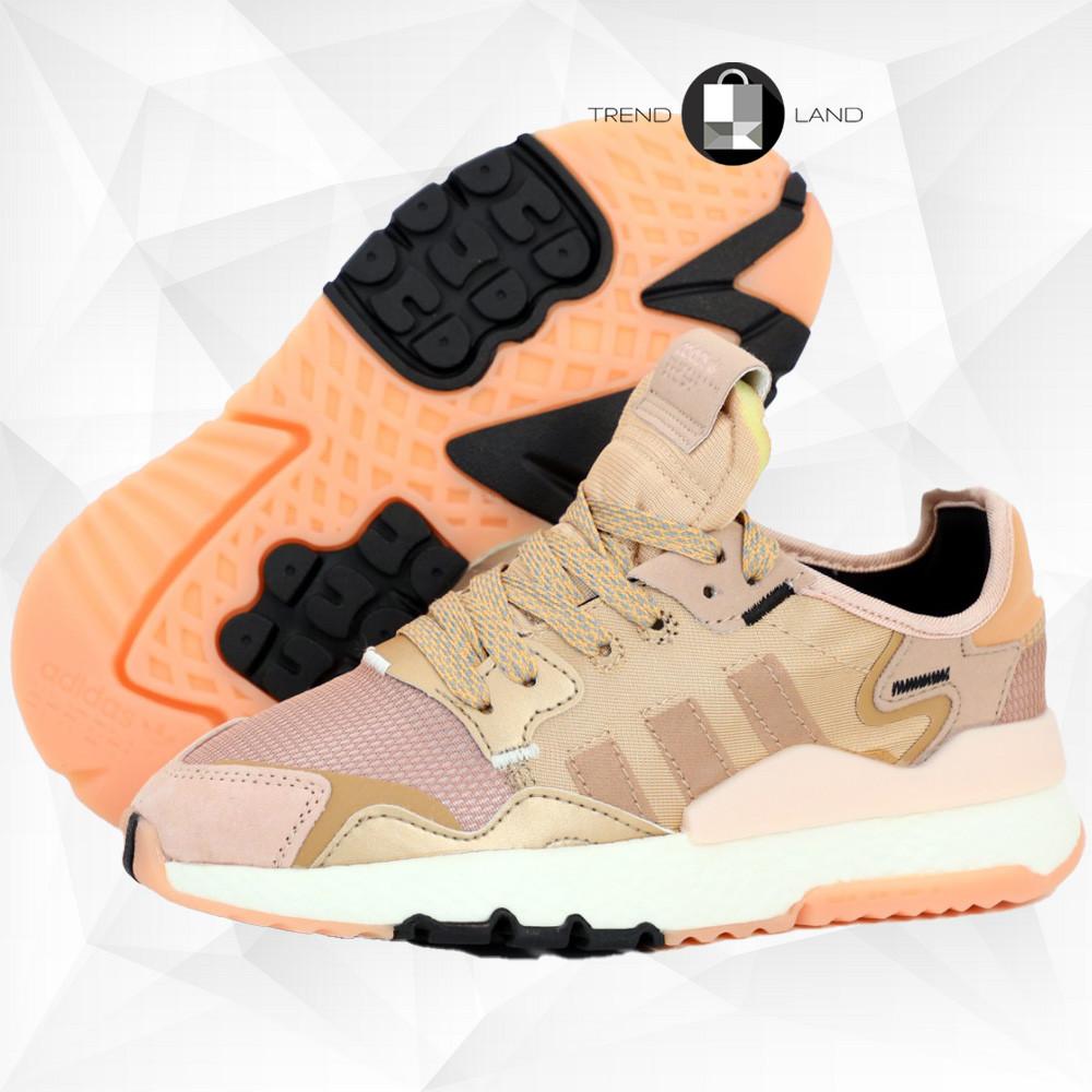 Рефлектив | Жіночі кросівки в стилі Adidas Nite Jogger Rose Gold