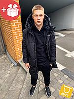 Мужская осенняя зимняя куртка чоловіча осіння зимова куртка мужская черная asos parka long 2020