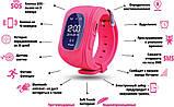 Смарт-годинник дитячі рожеві GPS Q50-1 Pink, фото 3