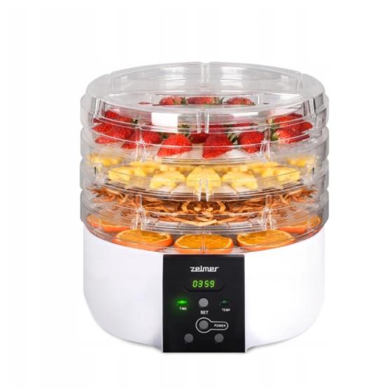Сушарка для харчових продуктів Zelmer ZFD1005 520W max 10 kg