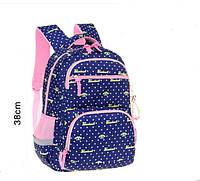 """Комплект рюкзак школьный ортопедический + пенал """"Cool Baby"""" синий 1-4 класс"""