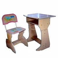 Детская парта со стульчиком регулируемая Bambi HB F 2029 -02 КИЕВ