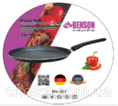Сковорода блинная Benson BN-561 24 см.