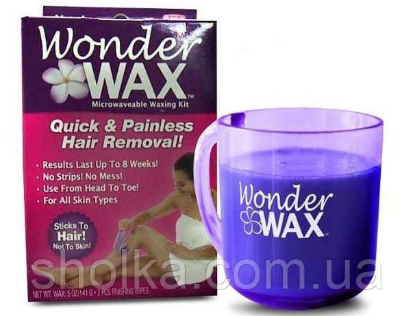 Крем віск для видалення волосся Wonder Wax для депіляції