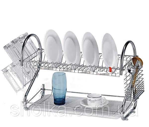 Сушарка для посуду з нержавіючої сталі Benson BN-004