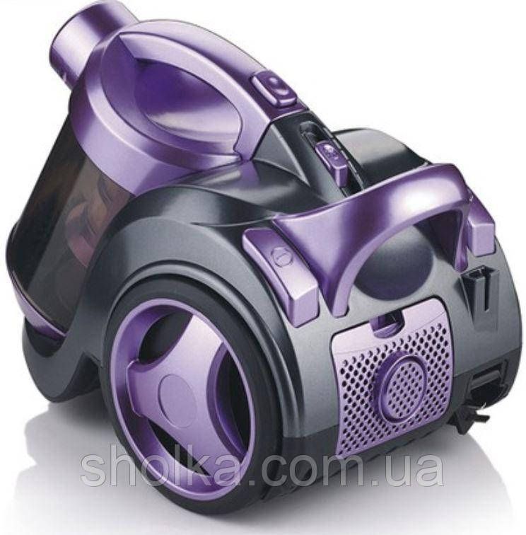 Пилосос вакуумний контейнерний Haeger HG-8662 (2400W)   Пилозбірник 3 л, Фіолетовий