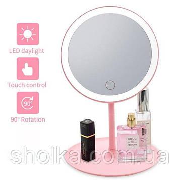 Зеркало с LED подсветкой круглое