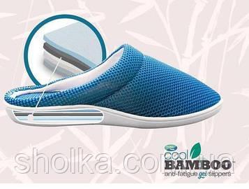 Домашние тапочки Сool Bamboo Anti-fatigue Gel Slippers