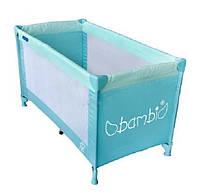 Детский манеж-кровать Bambi (Metr+) M 0526