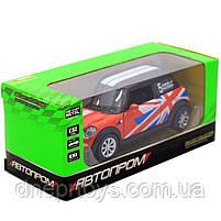 Детская машинка игровая автопром «Mini cooper» Красная, 12х5х5 см (7743), фото 2