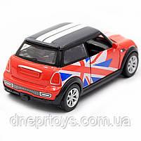 Детская машинка игровая автопром «Mini cooper» Красная, 12х5х5 см (7743), фото 5