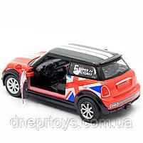 Детская машинка игровая автопром «Mini cooper» Красная, 12х5х5 см (7743), фото 6