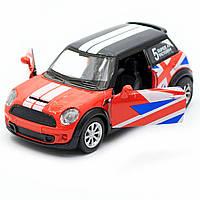 Детская машинка игровая автопром «Mini cooper» Красная, 12х5х5 см (7743), фото 7