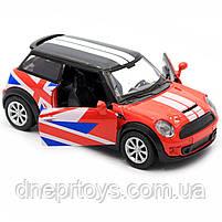 Детская машинка игровая автопром «Mini cooper» Красная, 12х5х5 см (7743), фото 8